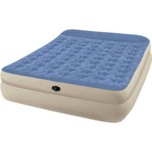 "Intex Queen 18"" Dura-Beam Plus Raised Pillow Rest Airbed"